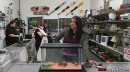 Latina Screw In XXXPawn Shop