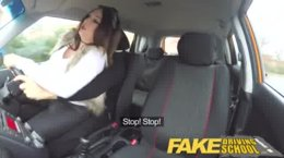 FakeDrivingSchool - Babe Enjoy In Random Fucking