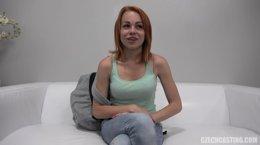 Redhead Teen Anal Czech Casting