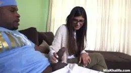 Mia Khalifa Takes Her First BBC
