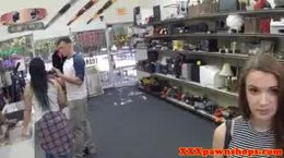 Pawn Star in pawnshop