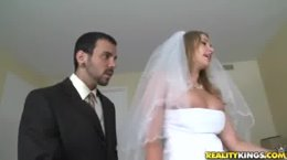 Big tits boss what a wedding