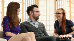 Jay taylor and penny pax fucked by a nerdy french