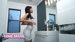 Dominant Latina Beauty Hime Marie loves rimming